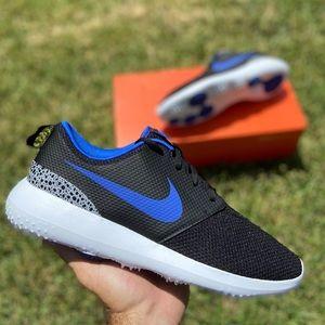 Nike Roshe G Spikeless Golf Shoes Black Cement